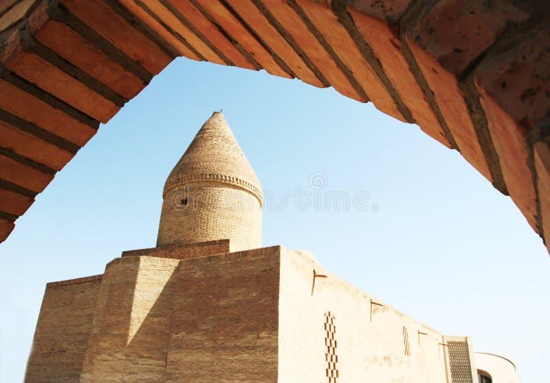Building in Bukhara stock image