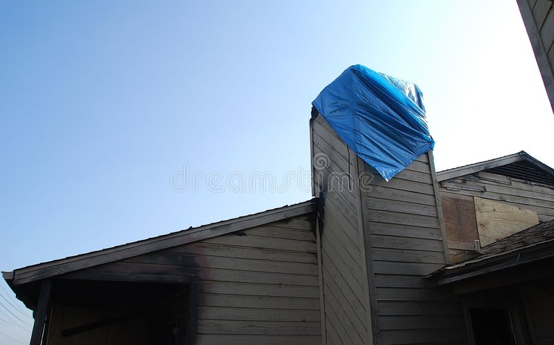 Download Building Burned And Boarded Up Stock Images - Image: 5841644