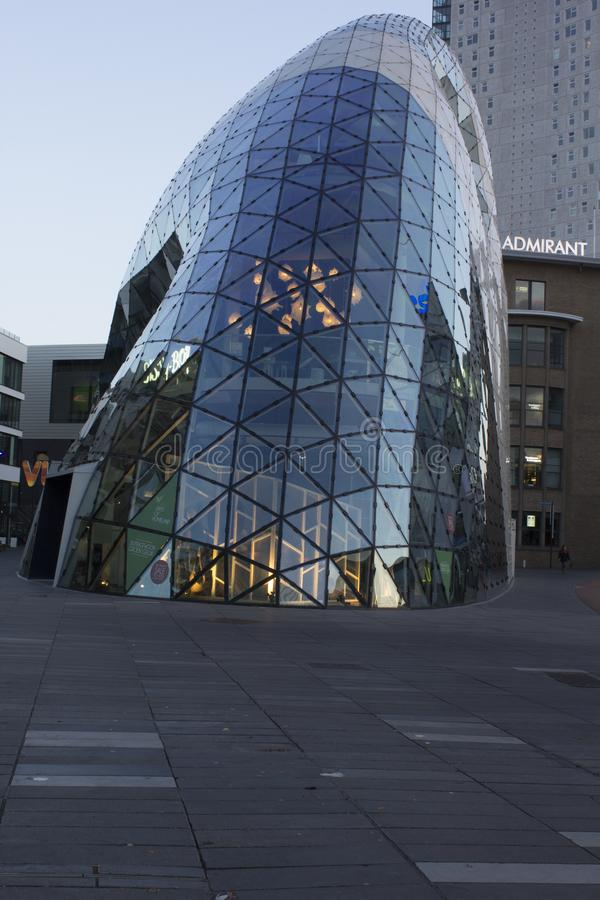 The Blob in Eindhoven royalty free stock images