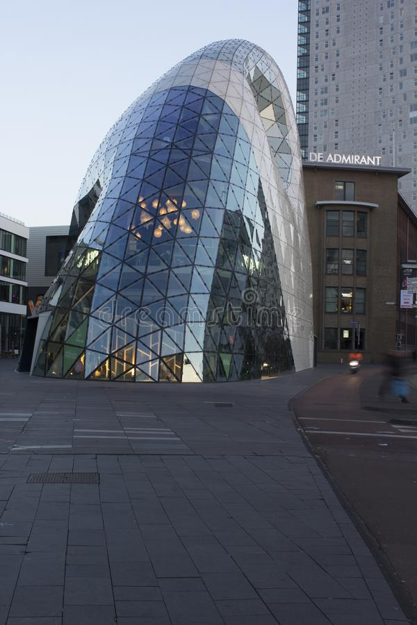 The Blob in Eindhoven stock image
