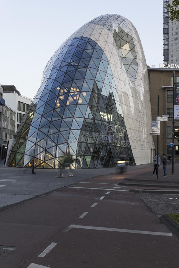 The Blob in Eindhoven stock photography