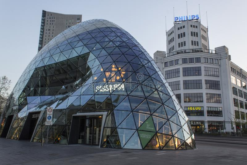 The Blob in Eindhoven royalty free stock photo