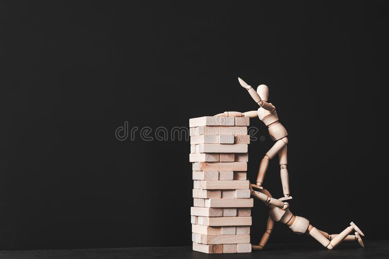 Building career leadership competition success royalty free stock photo