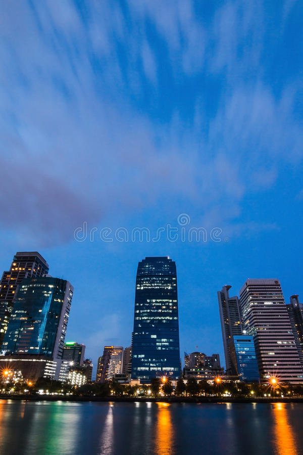 Building in center of Bangkok royalty free stock photography