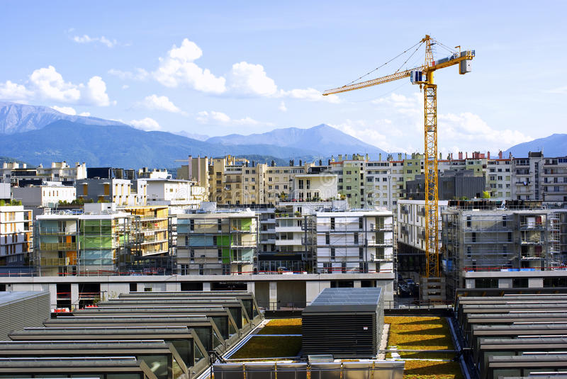 Download Building A City Stock Image - Image: 21051491