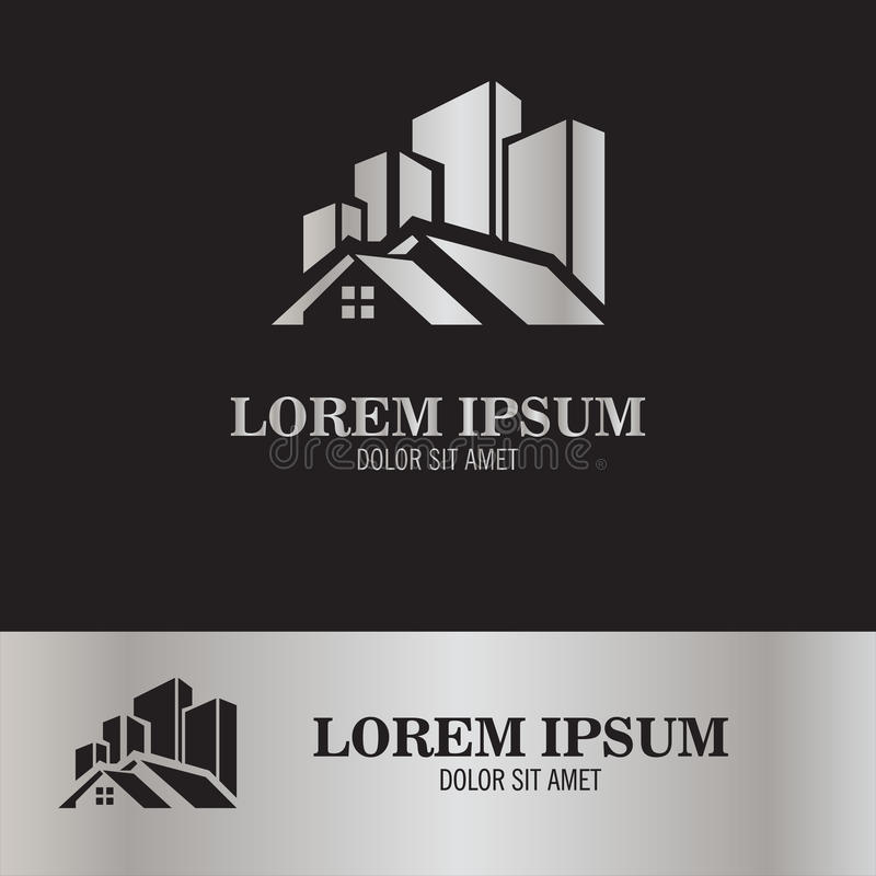 Building city logo stock illustration