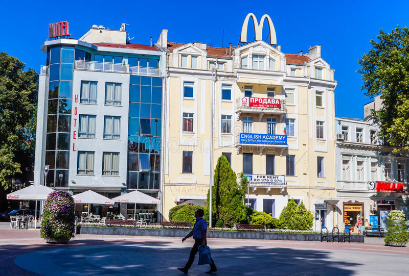 Download The Building In The City Of Varna Editorial Photography - Image: 83712317