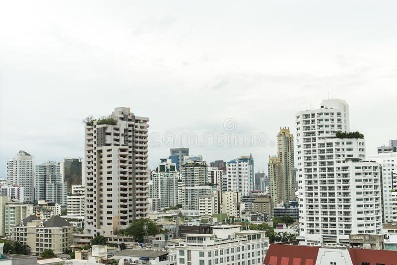 Building and cityscape Bangkok skyline, Thailand. Building and cityscape Bangkok skyline, bangkok, Thailand royalty free stock image