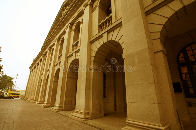 Download Building With Classical Pillars Stock Image - Image: 7622589