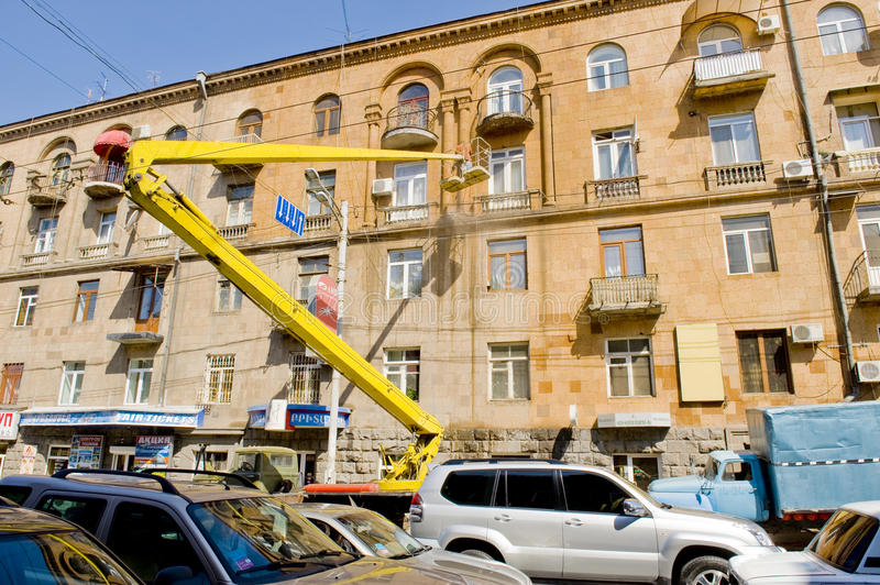 Download Building Cleaning Editorial Stock Image - Image: 19891939