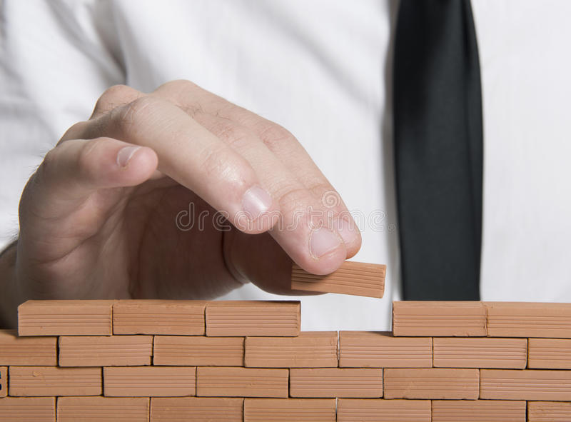 Download Building a company stock image. Image of erect, builder - 27805915