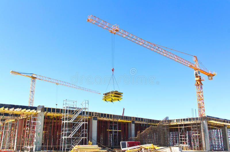 Download Building construction stock photo. Image of constructing - 26183892