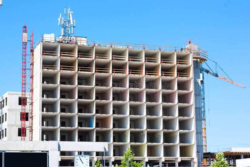 Download Building Construction And Crane Stock Photo - Image: 25323392