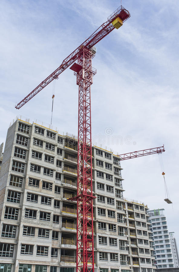 Building Construction stock image
