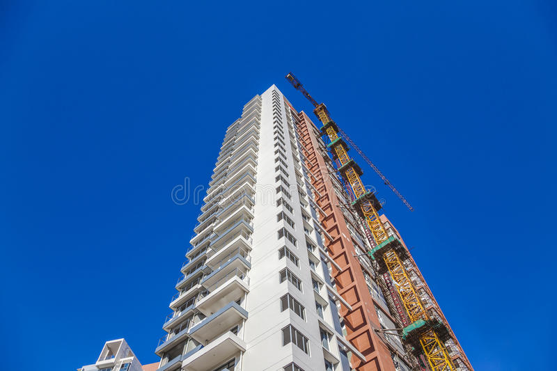 Building construction site royalty free stock images
