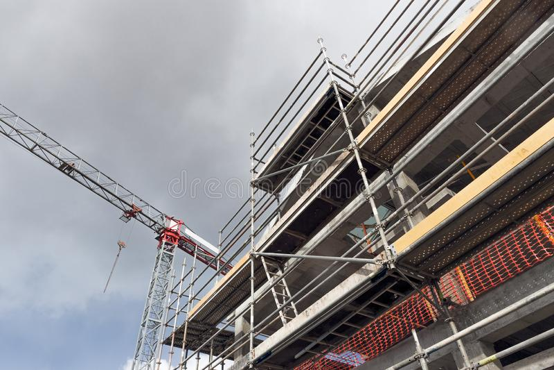 Building construction site Architecure and building concept stock images