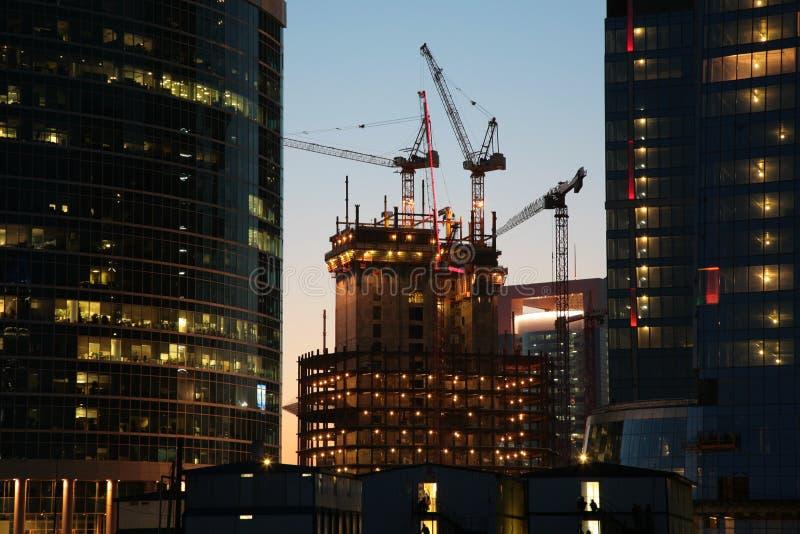 building construction under στοκ φωτογραφίες