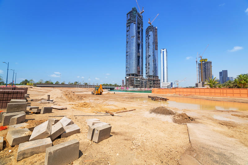 Download Building Constuction In Abu Dhabi Stock Image - Image: 39923847