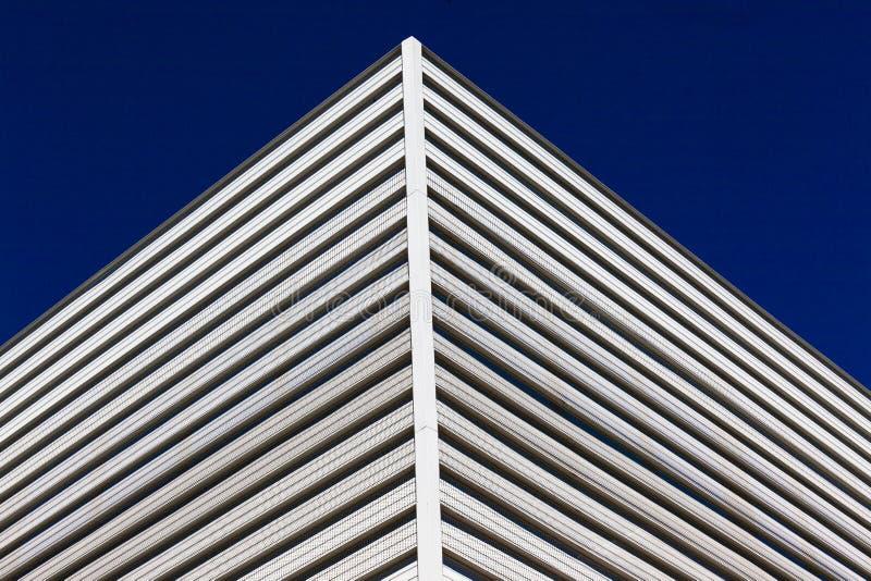 Building Corner Material Detail stock image