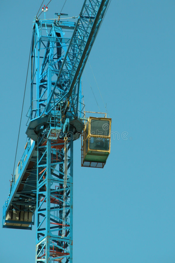 Download Building Crane stock photo. Image of weight, boom, cable - 14160