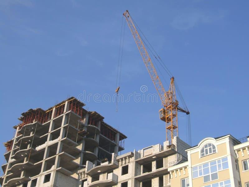 Building crane 3 royalty free stock image