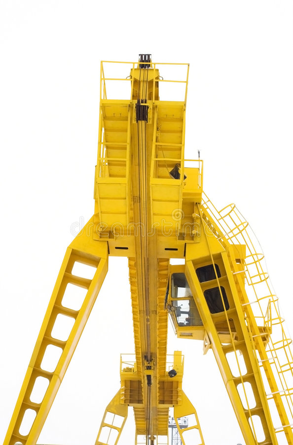 Download The building crane stock image. Image of growth, construction - 8242643