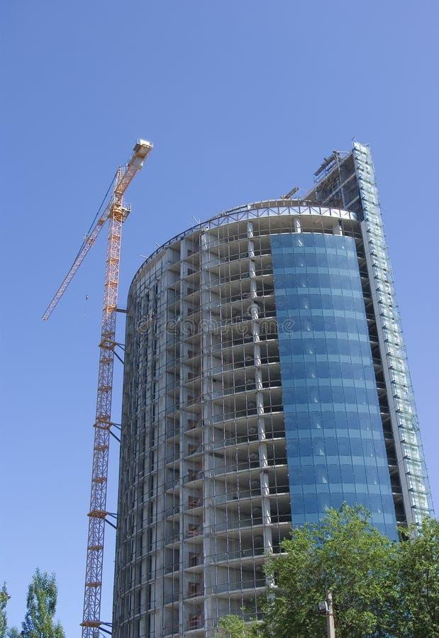 Download Building crane stock photo. Image of metal, erect, industrial - 9847580