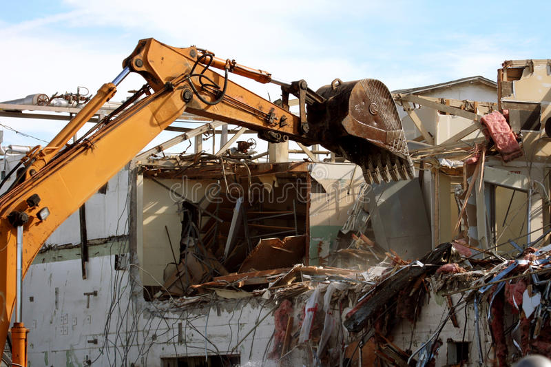 Download Building demolition stock photo. Image of darrin, renovation - 18828608