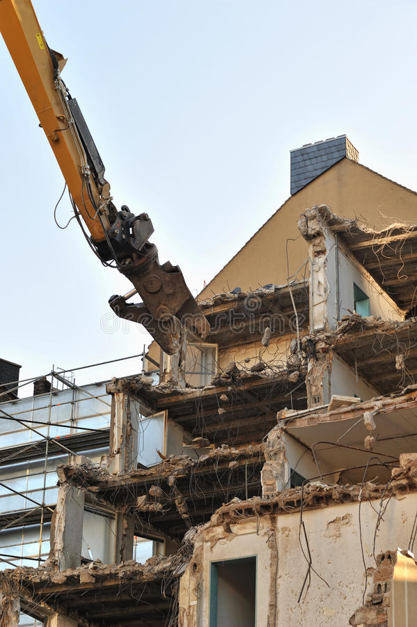 Download Building demolition stock photo. Image of debris, dirty - 22336054