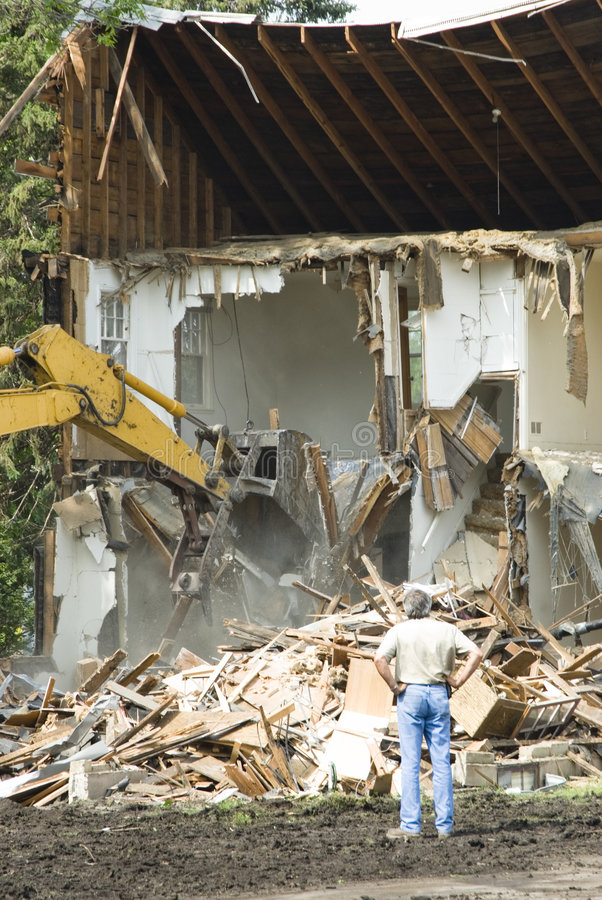 Free Building Demolition 6 Royalty Free Stock Image - 2623306