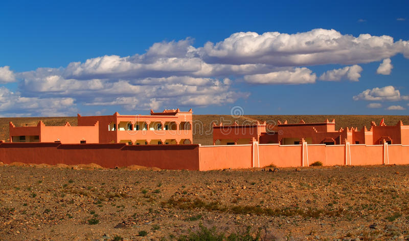 Building In The Desert Of Morocco Stock Photography