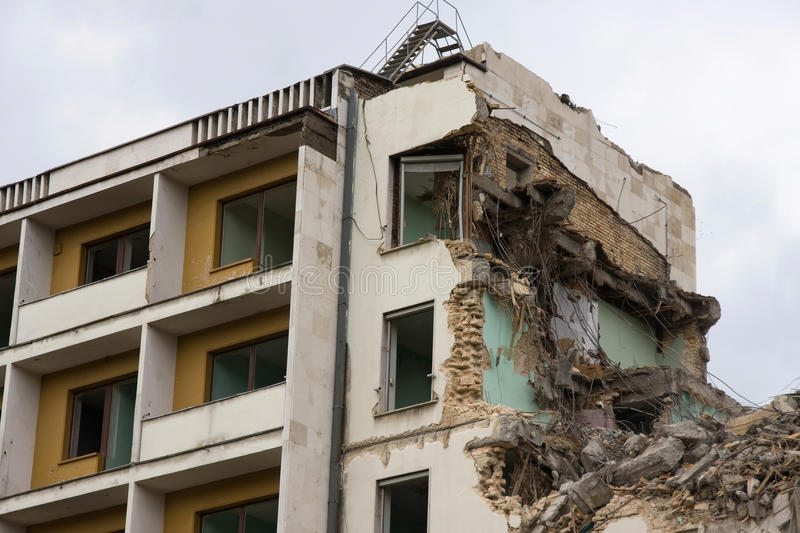 Download Building destruction stock photo. Image of architecture - 14854732