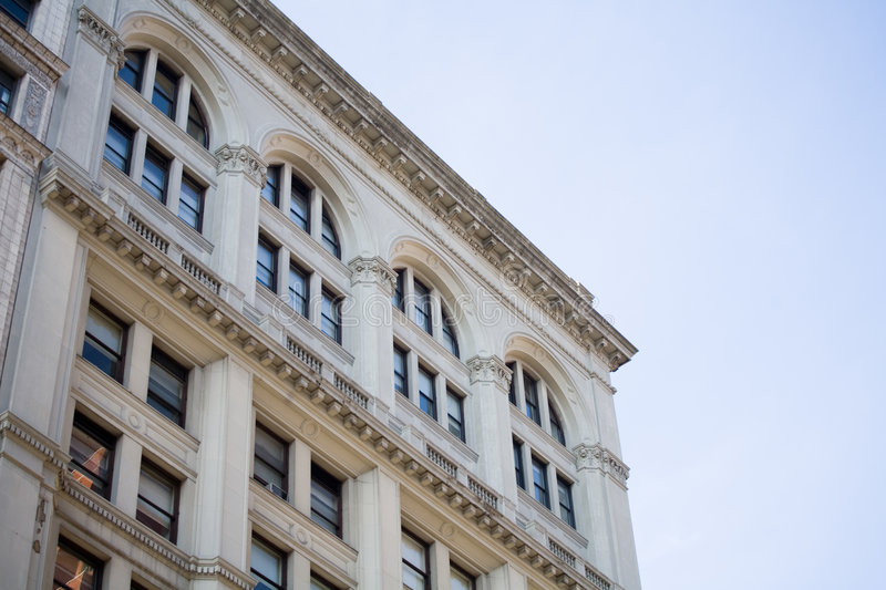 Building in Downtown Manhattan. NYC royalty free stock photography