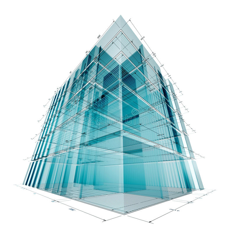 Download Building engineering stock illustration. Image of color - 13055680