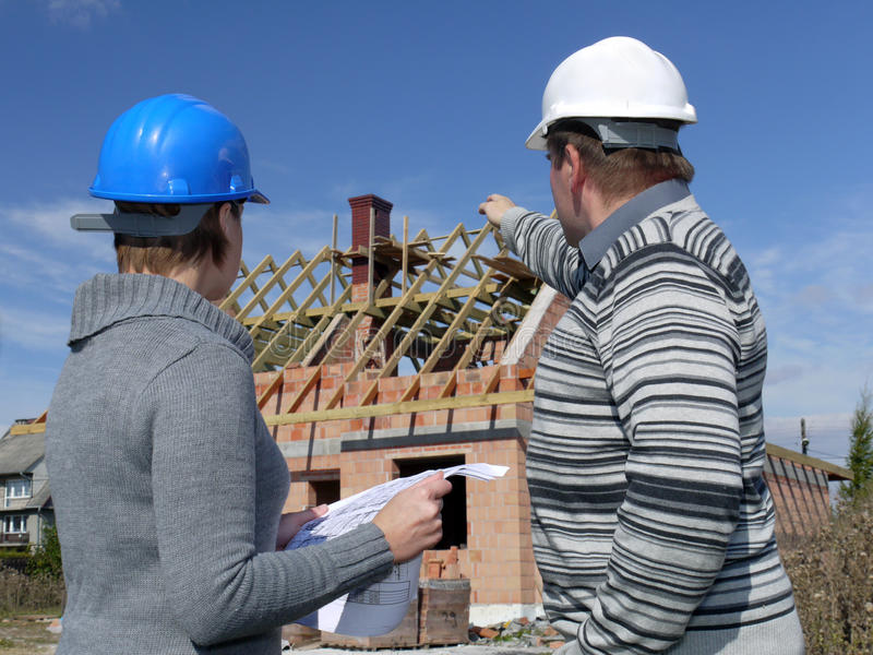 Download Building engineers stock photo. Image of designing, discuss - 11252628