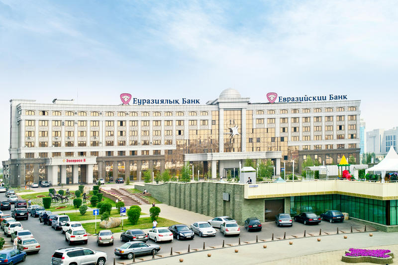 Download Building Of The Eurasian Bank And Eurasian Corporation Of Natura Editorial Stock Photo - Image: 40006303