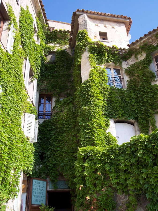 Download Building in Eze stock image. Image of medieval, windows - 2115671