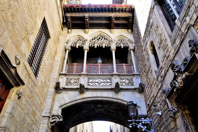 Edificio modernista - Barcelona España royalty free stock images