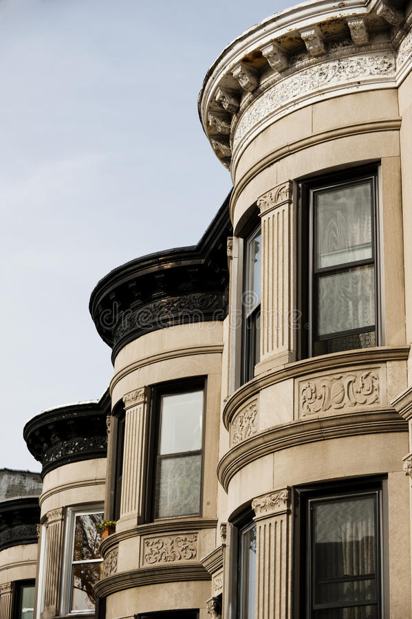 Building Facade In Brooklyn New York Royalty Free Stock Photography
