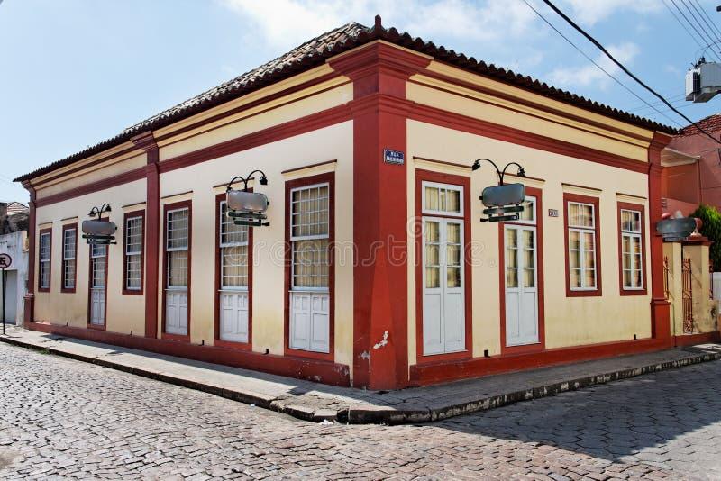 building facade historical laguna royaltyfria foton