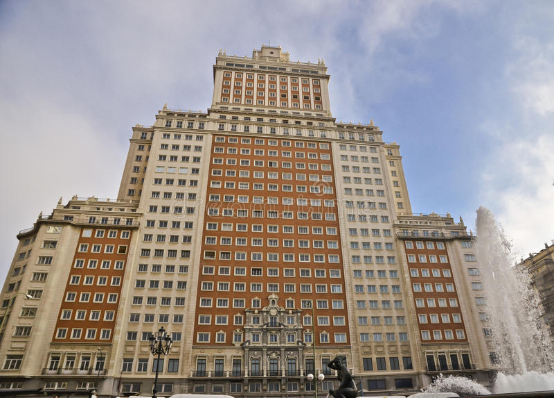 Download Building facade Spain stock image. Image of brick, construction - 26449817