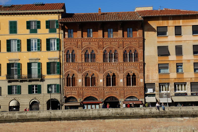 Building in Florence Italy stock image