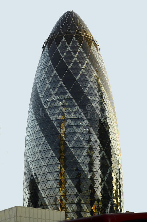 building gherkin london στοκ φωτογραφία με δικαίωμα ελεύθερης χρήσης