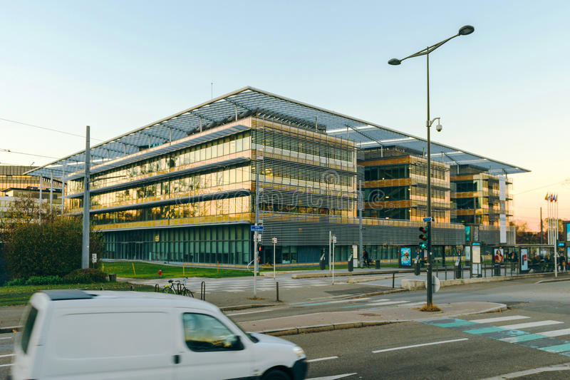 Download Building Of The Grand Est Administratoin In  Strasbourg, France Editorial Stock Photo - Image: 83720753