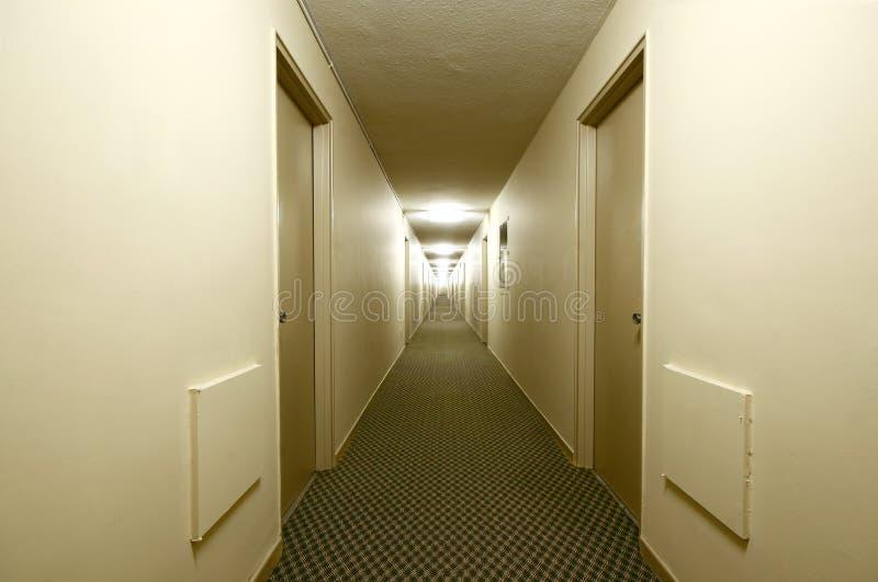 Download Building Hallway. stock image. Image of apartments, door - 12685337