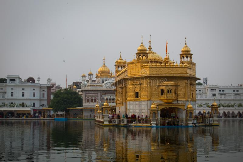 Building of Harminder sahib in Amritsar Punjab India stock image