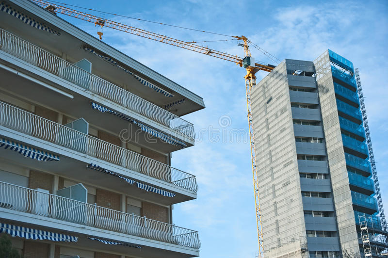 Download Building high rise hotels stock image. Image of high - 25232983