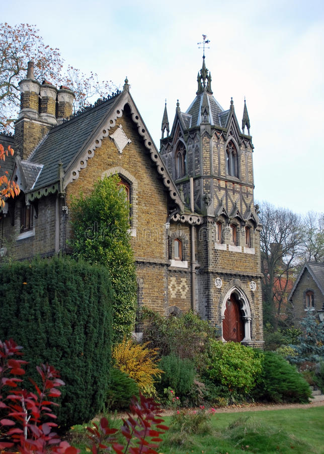 Building In Highgate Royalty Free Stock Photos