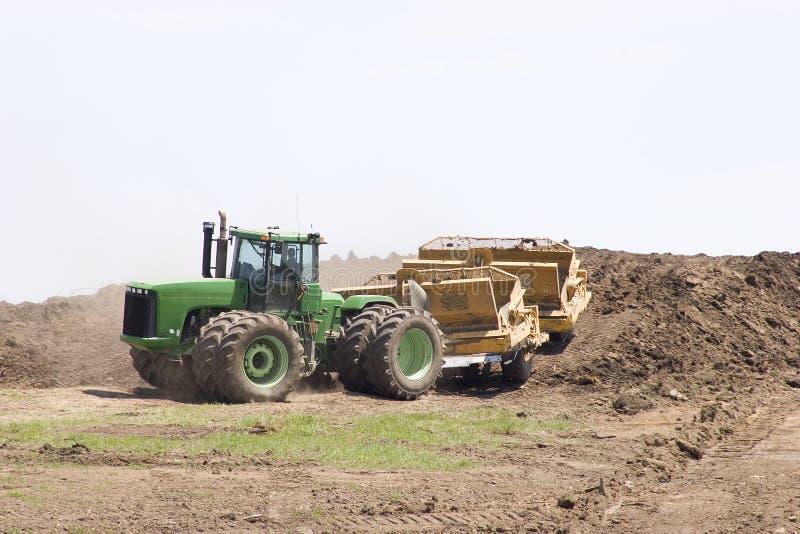 Download Building a hill stock photo. Image of detour, closure, crane - 117924