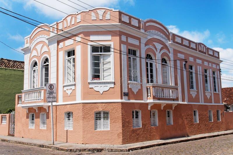 building historical laguna royaltyfri foto
